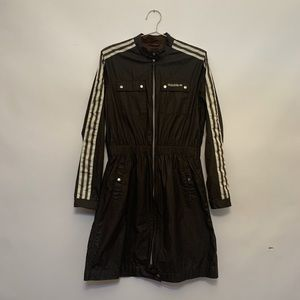 Vintage Adidas Brown Trench Coat